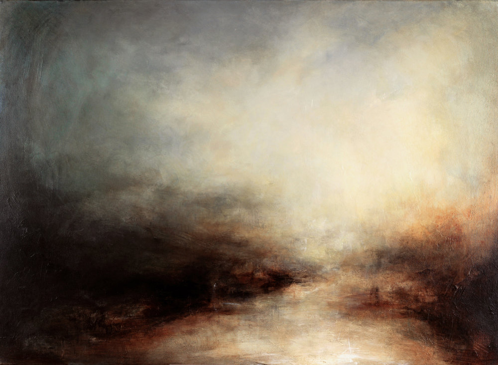 Kerr Ashmore - The Known - 73 x 100 cm - Acrylic on canvas - Art - Landscapes - Pianitngs.jpg
