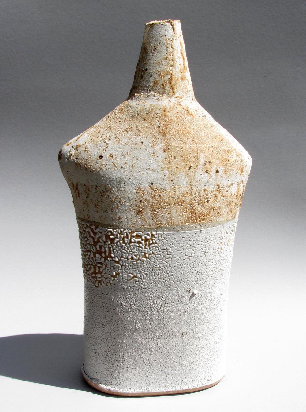 Shouldered Bottle - Chalk Beach49cm tall£650.00