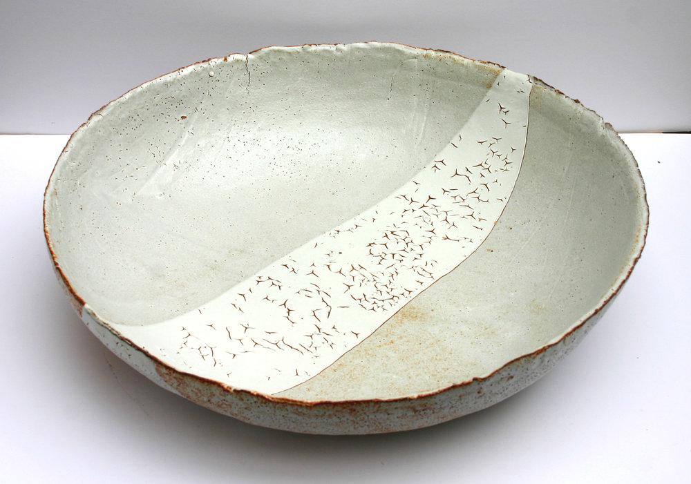Large Shino Dish - Tidepath51cm diameter£450.00