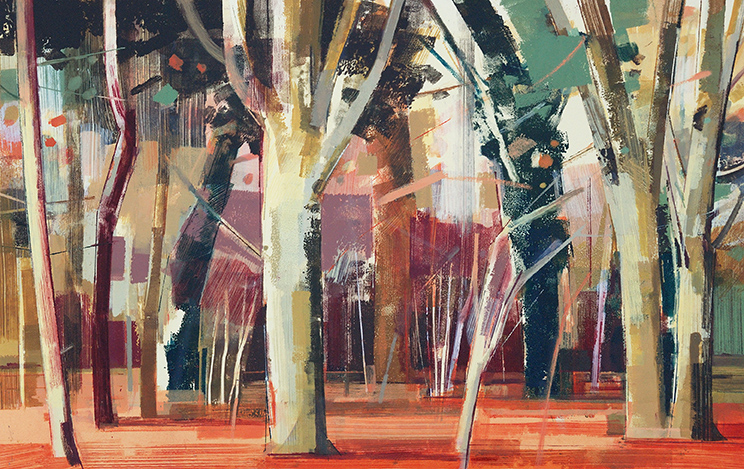 Jane Human - Autumn Woodland II