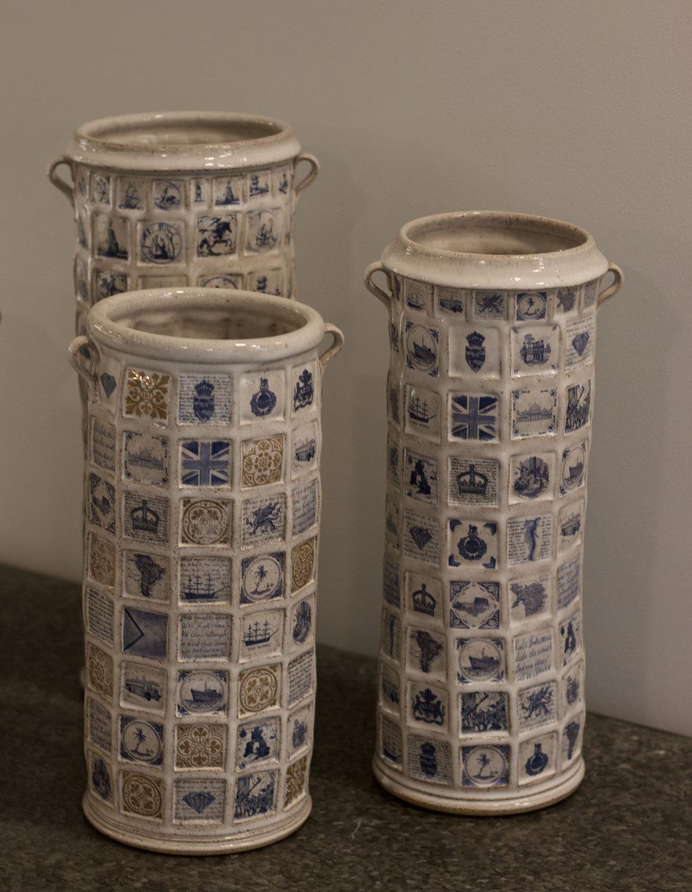 Richard Miller - Trio of Vases