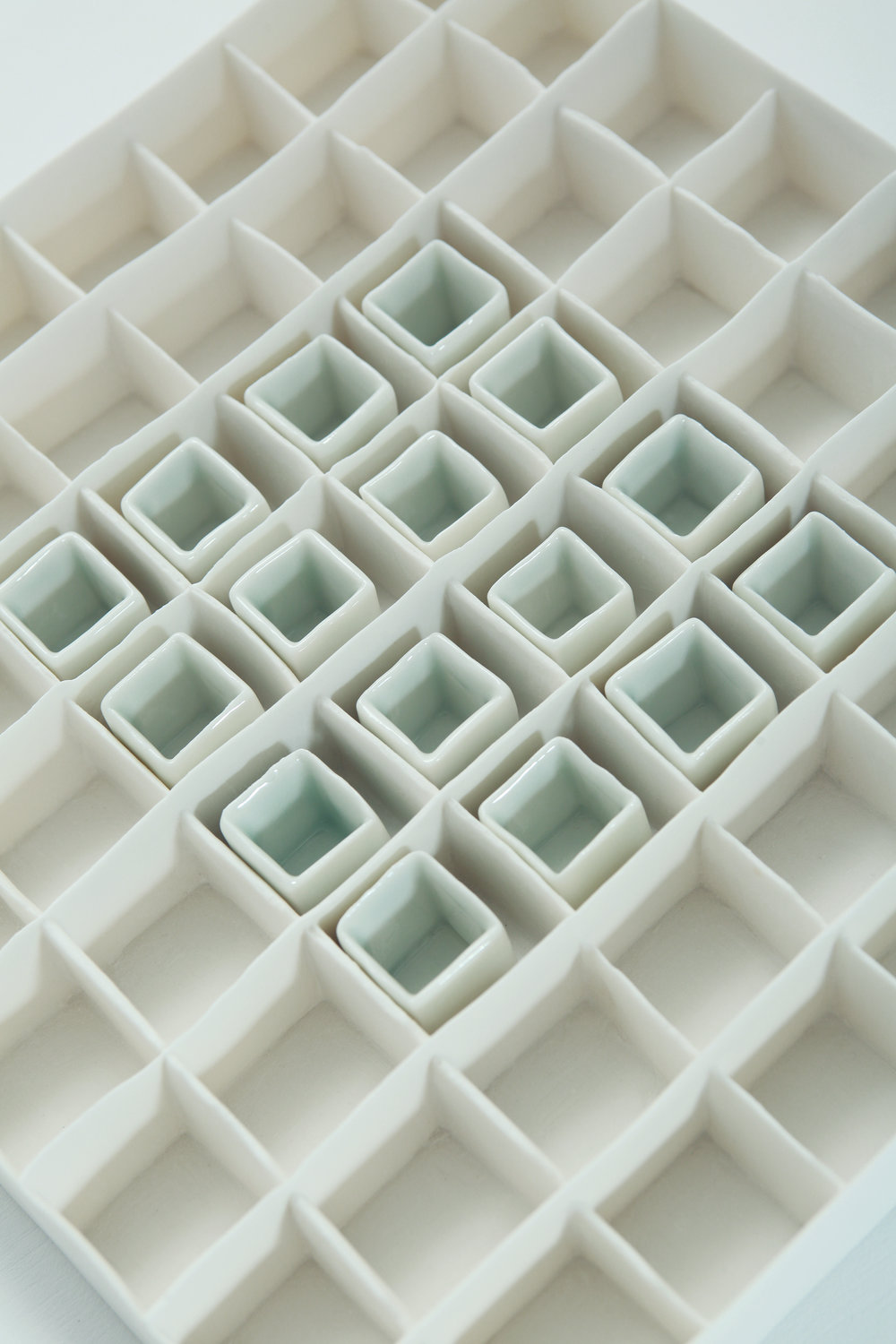 Porcelain Grid With Celadon Blue Glaze Isobel Egan Image 2.jpg