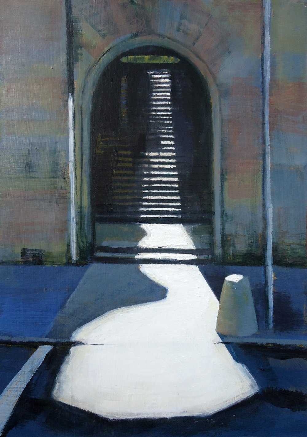 Lindsay Lavender oil and acrylic paintings arrive soon. Her expert capturing of buildings and the shadows and light play they cause have their roots in her training as an architect. She is one of Scotland's most admired artists and has works in many revered collections. Her works are either Scottish or Yorkshire scenes, she hails from Yorkshire but lives in Edinburgh these days.