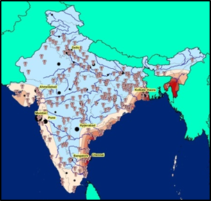 Cyclone Risk and Thermal Electricity Generation in India
