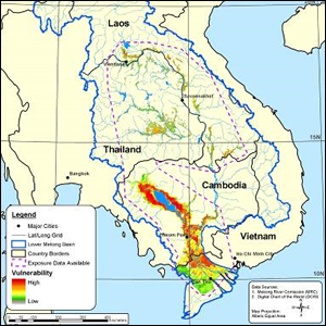 Flood Vulnerability in the Lower Mekong Basin