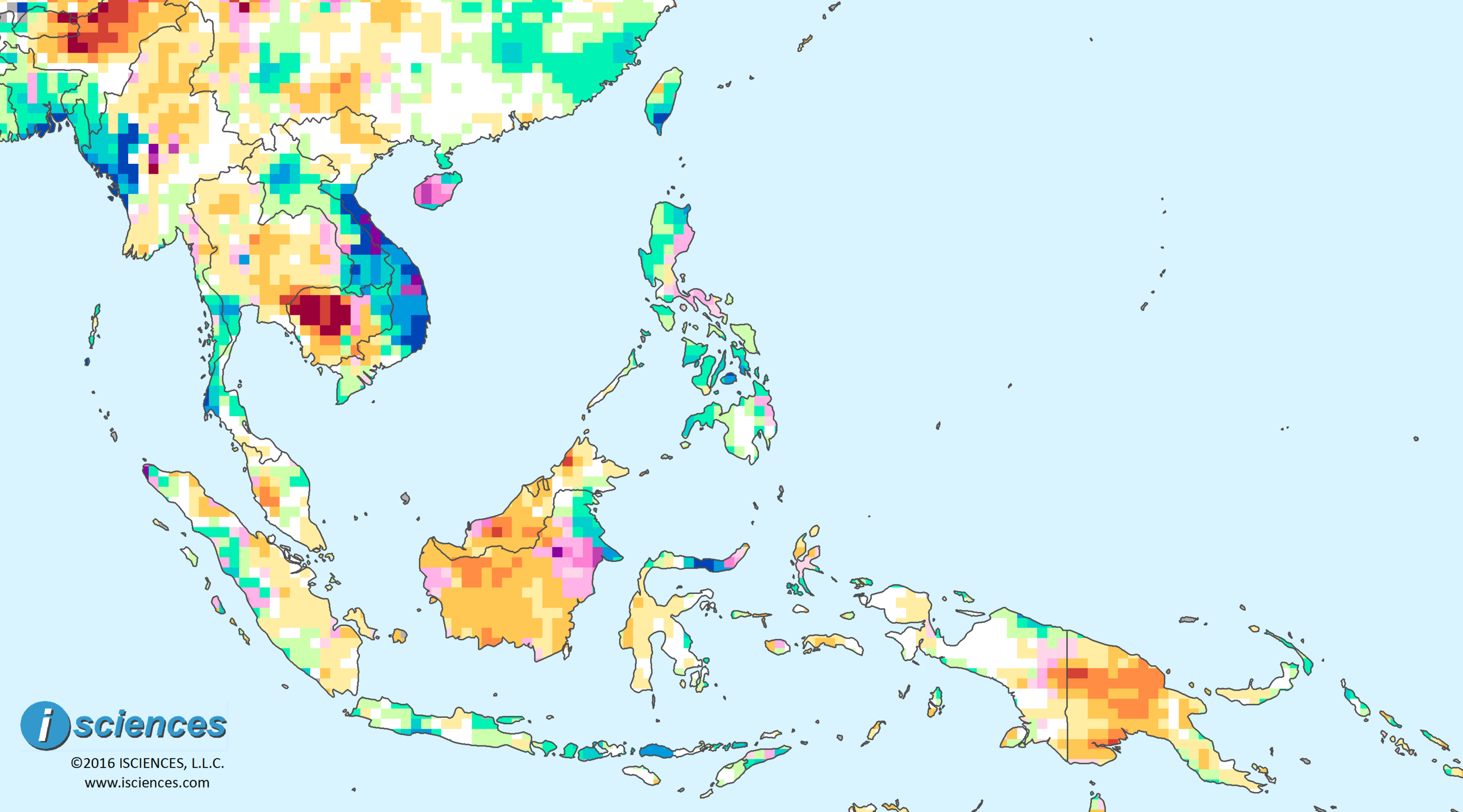 Southeast Asia & the Pacific: Water surpluses in Laos ... on sumatra map, indus river map, malay archipelago, india map, sabah map, strait of malacca, cuba map, arabian peninsula, philippines map, malaysia map, east indies, indonesia map, singapore map, gobi desert on map, east timor map, japan map, peninsular malaysia, persian gulf map, cambodia map, malay language, malay people, laos map, kra isthmus, great sandy desert map, borneo map, cape of good hope map, java on map, maldives map,