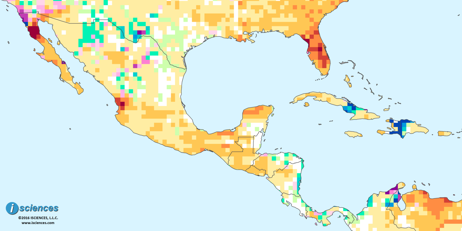 Central America And Caribbean Map on