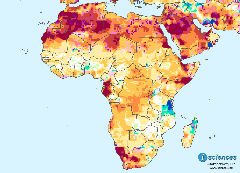 Africa Water Deficits Forecast To Emerge In Botswana Ne Namibia