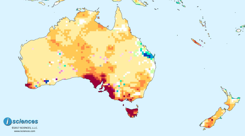 Australia New Zealand Water Deficits To Persist In Tasmania