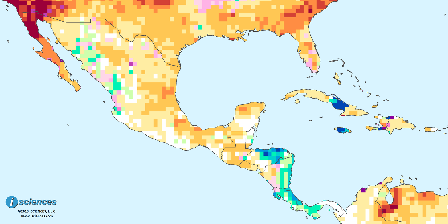 Mexico, Central America, & the Caribbean: Water deficits forecast ...