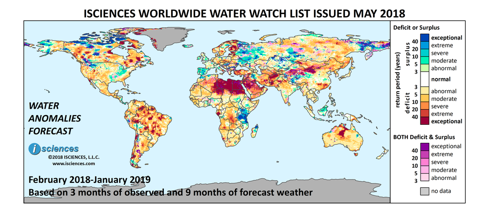 ISciences Water Security Indicator Model (WSIM)