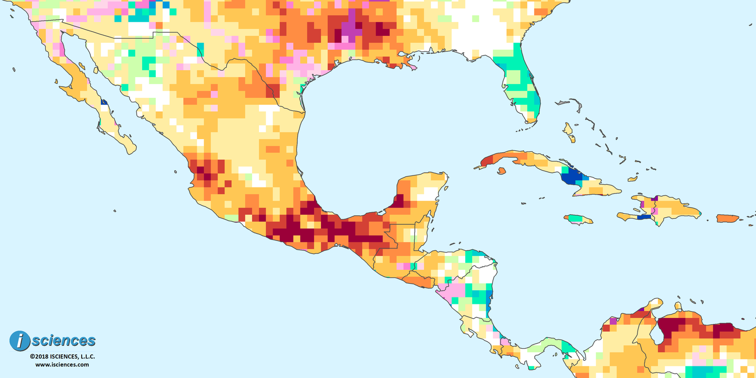 Mexico, Central America, & the Caribbean: Significant water deficits ...