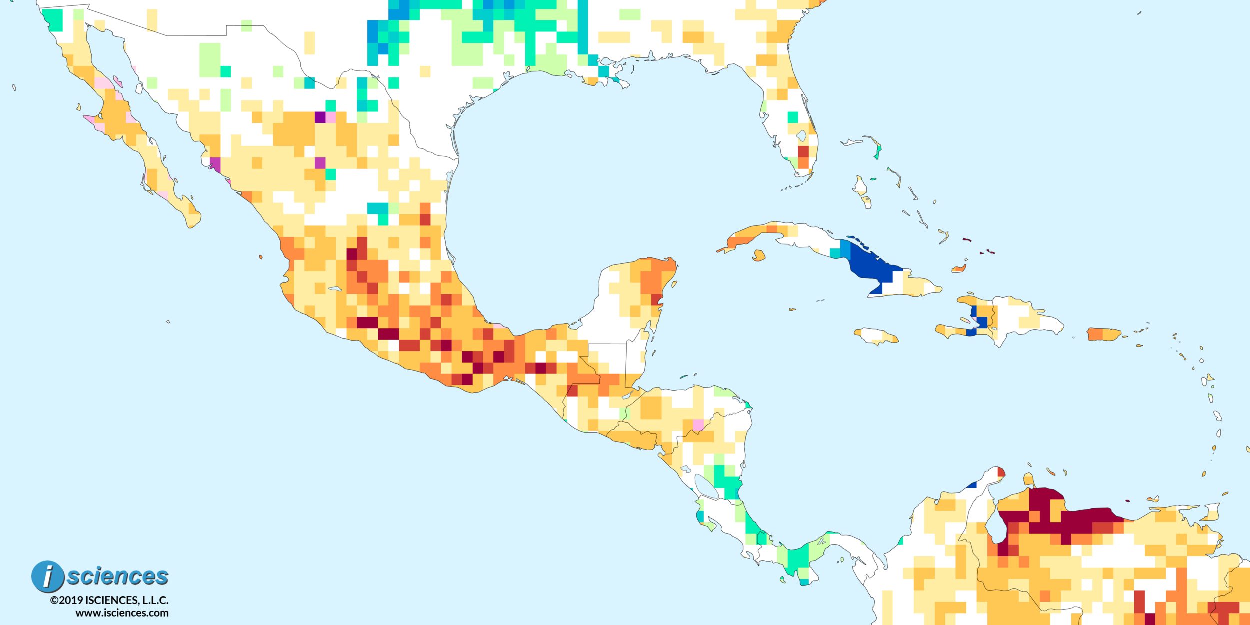 Mexico, Central America, & the Caribbean: Water deficits to ...