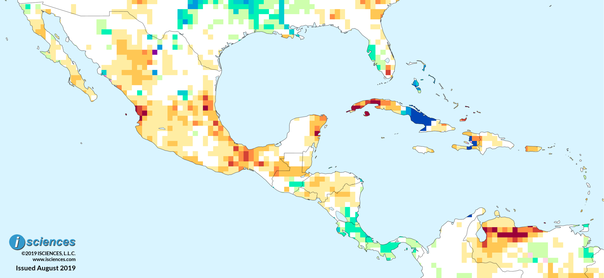 Mexico, Central America, & the Caribbean: Intense water ...