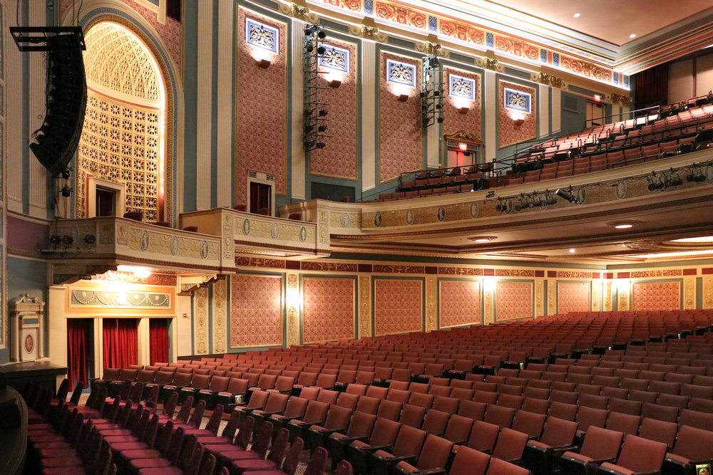 Lerner Theater Seating - Elkhart IN