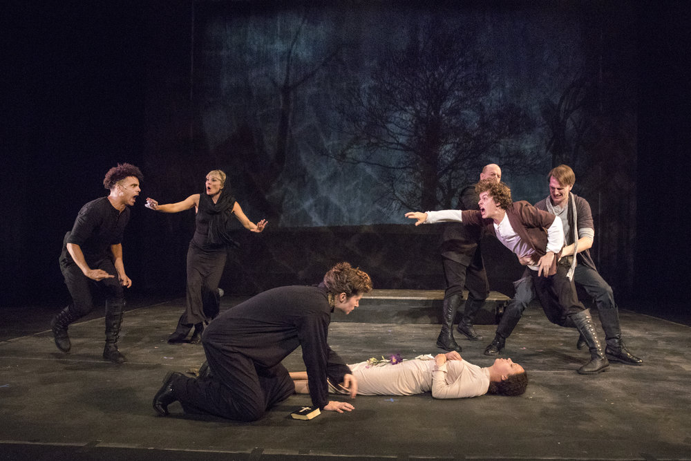 HAMLET. Photo by Richard Termine.