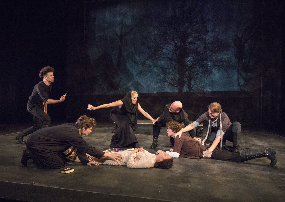HAMLET. Photo by Richard Termine