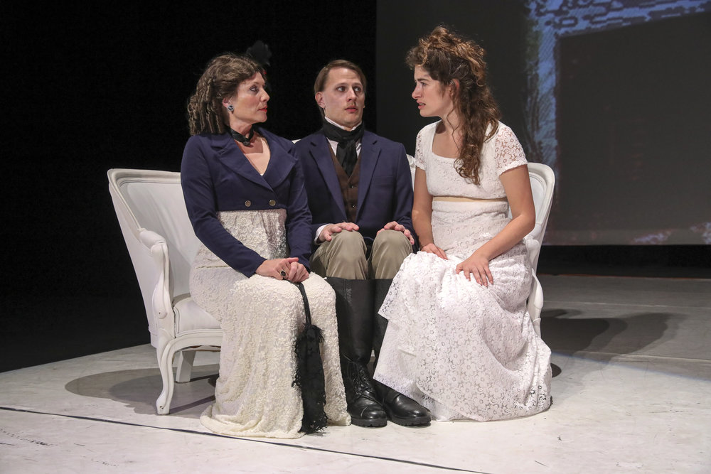 SENSE & SENSIBILITY. Photo by Richard Termine