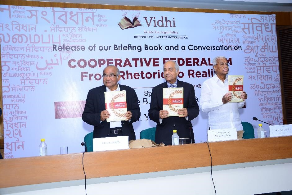 Speeches and Video: A Conversation on Cooperative Federalism 1