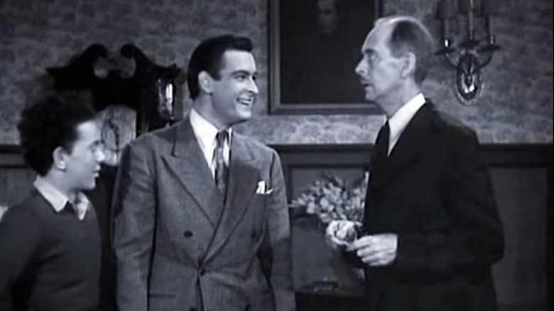Croft and Wilson have some fun with Alfred (William Austin) who was the comedy relief for the serial.