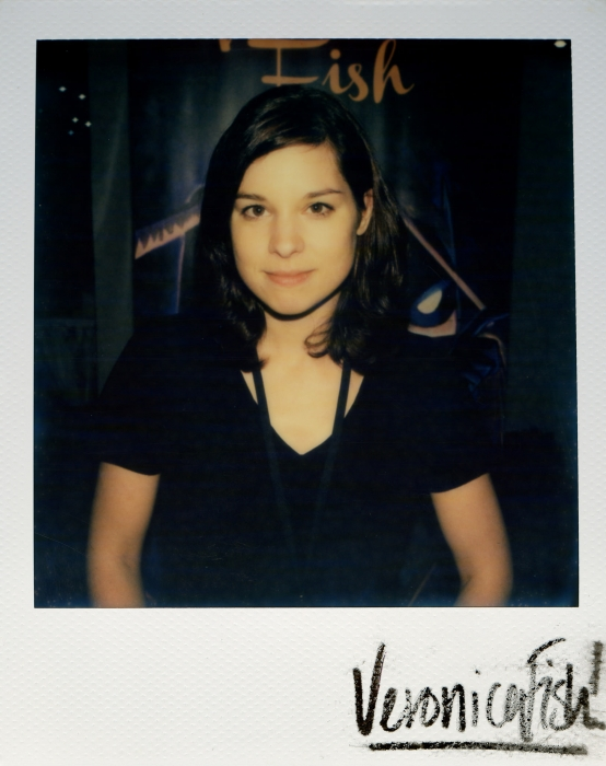 I'm running this pic because it was taken with a polaroid at Heroes Con a few years ago and Veronica likes it.
