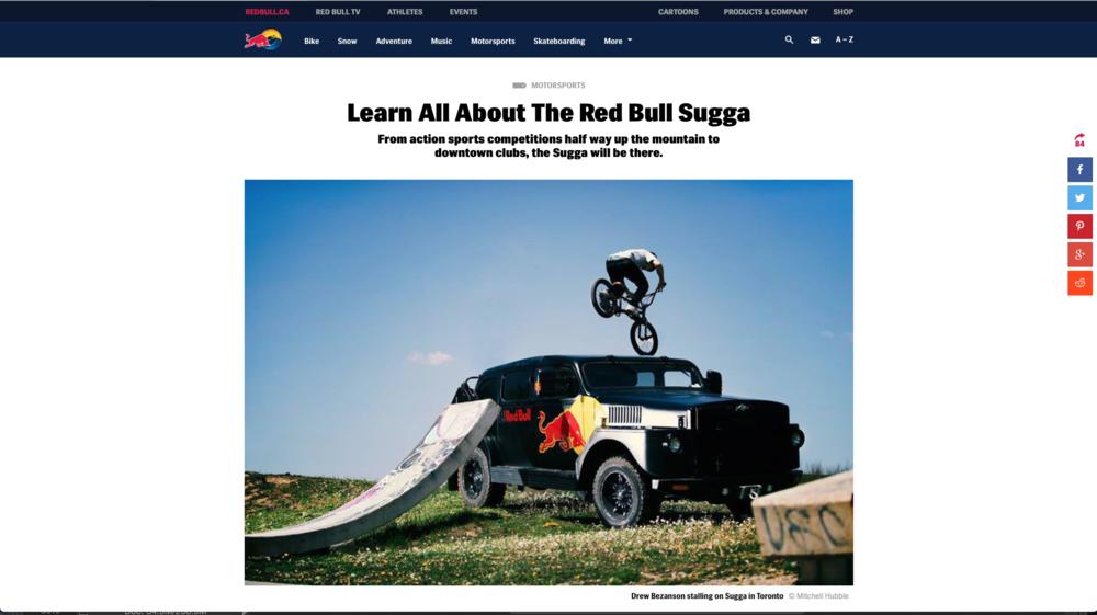 Red Bull - Sugga