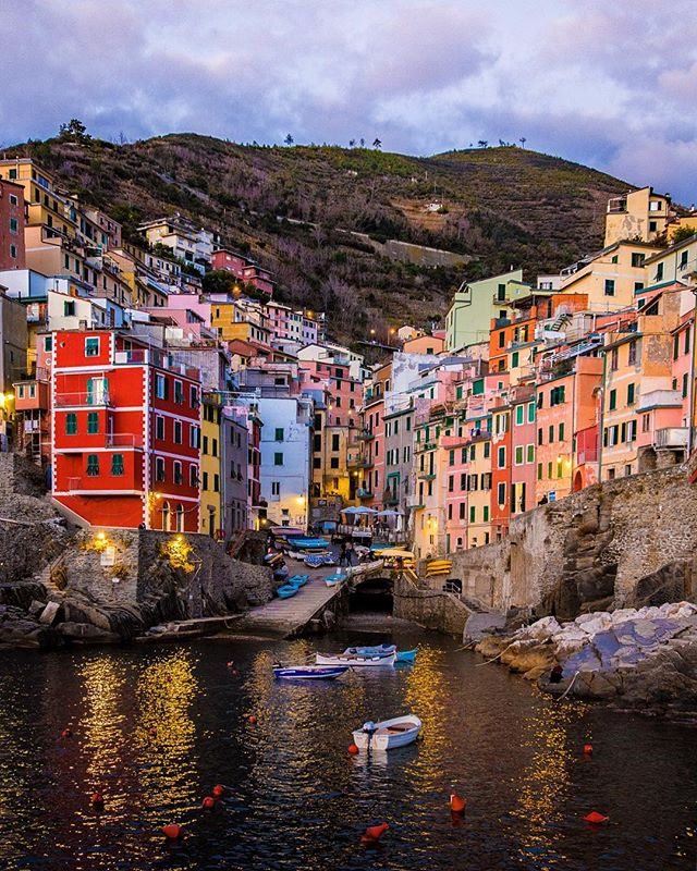 Riomaggiore, Italy 🇮🇹 Big Thanks to @tiffencompany for all the support, and giving my images that extra pop they have. @italy.vacations