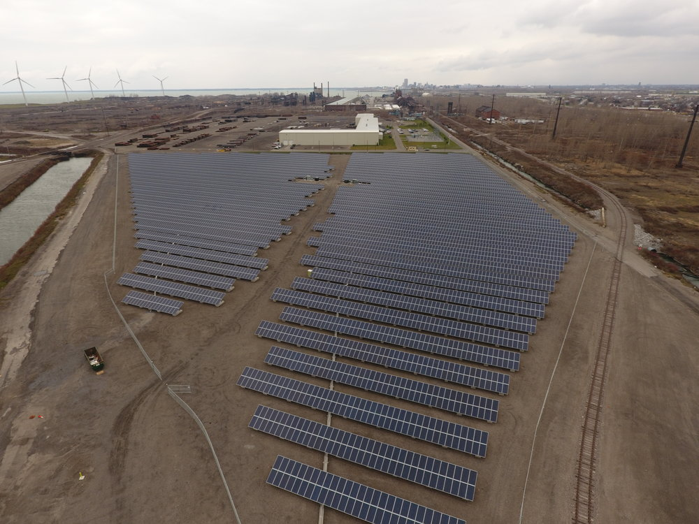 EagleHawk Solar Farm Imaging and Thermal Inspection Projects