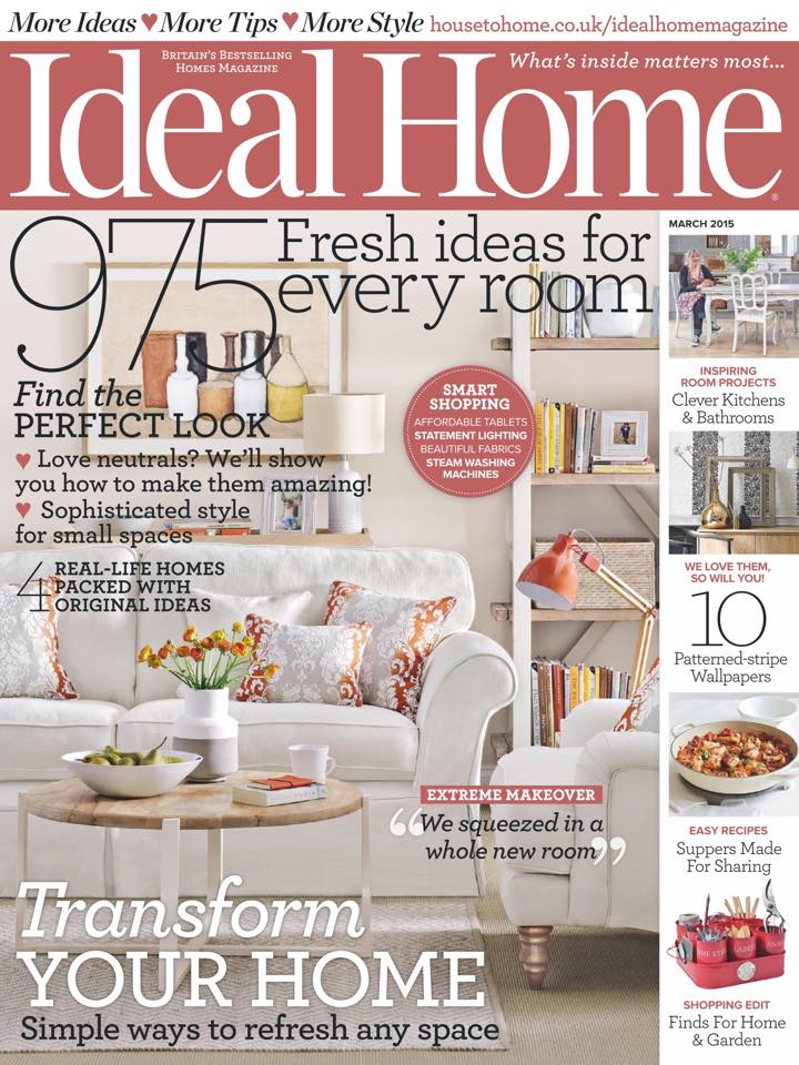 March issue 2015 - Front Cover