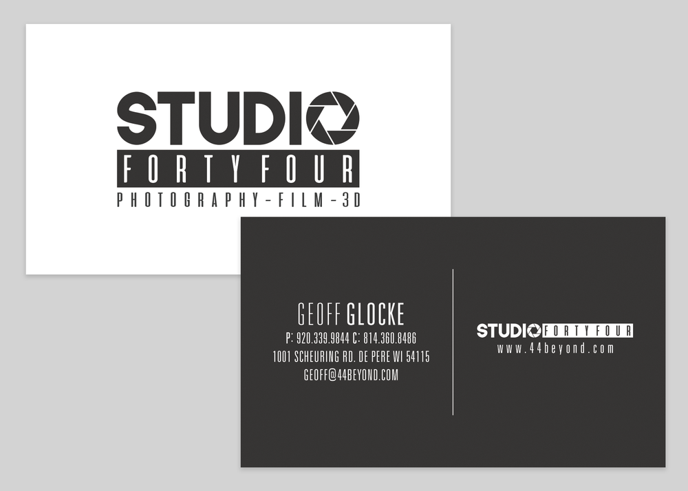 Studio 44 Business Card Design