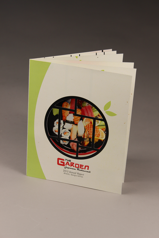 Annual Report Mockup: Cover