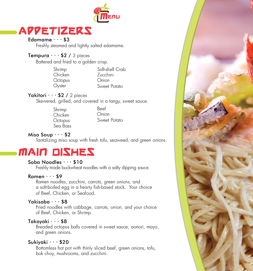 Menu: Inside, Pg 1