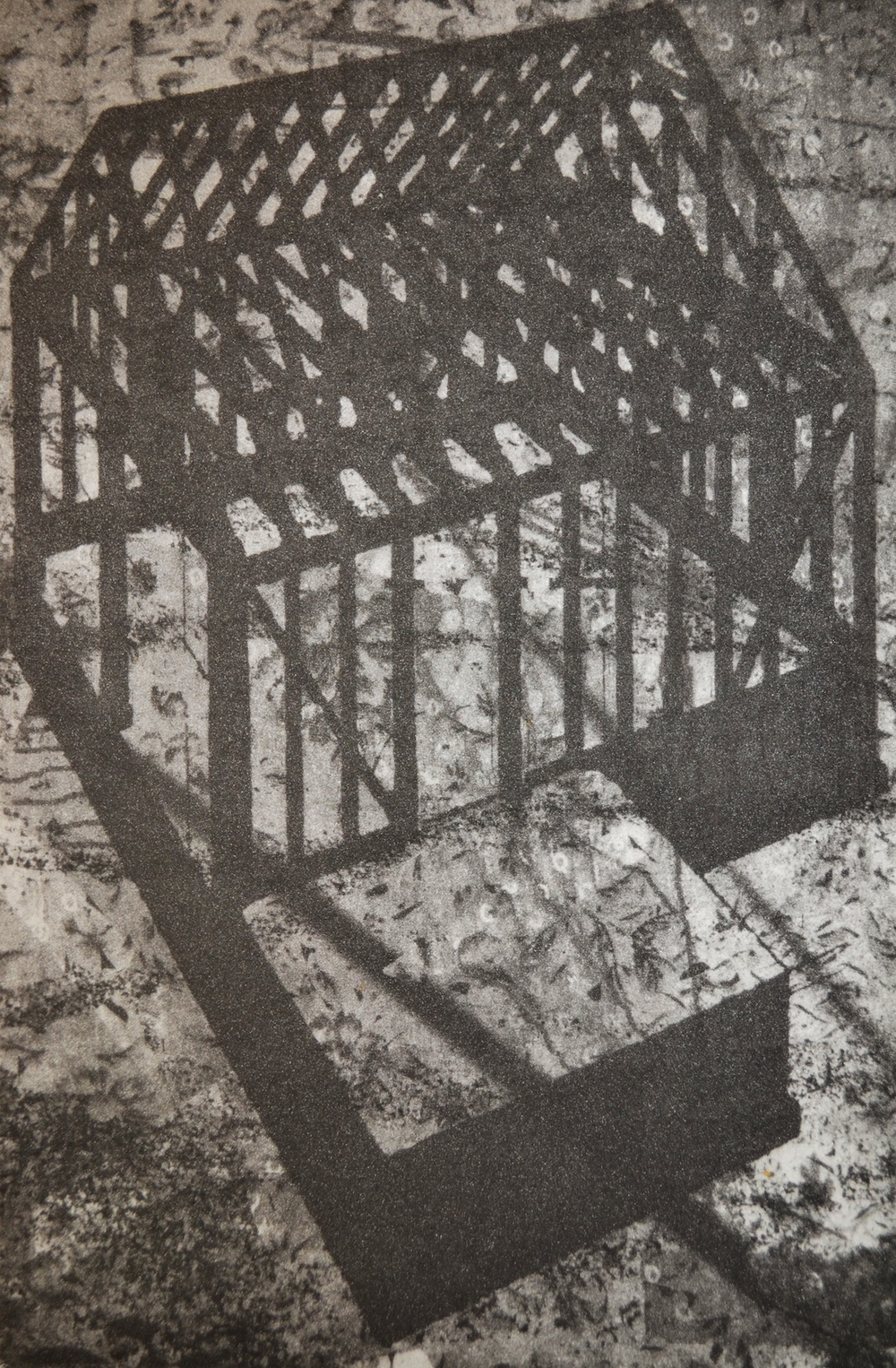 "Home, 9 x 6"", photogravure, 2013"