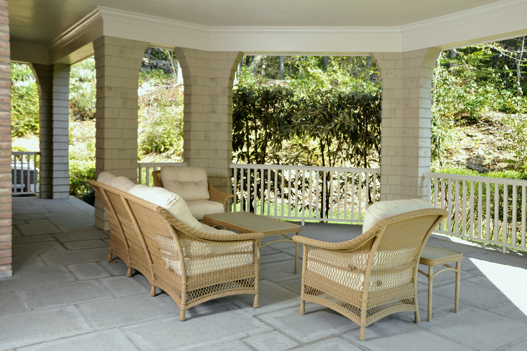 Patio — 14 Hycliff, Greenwich Ct