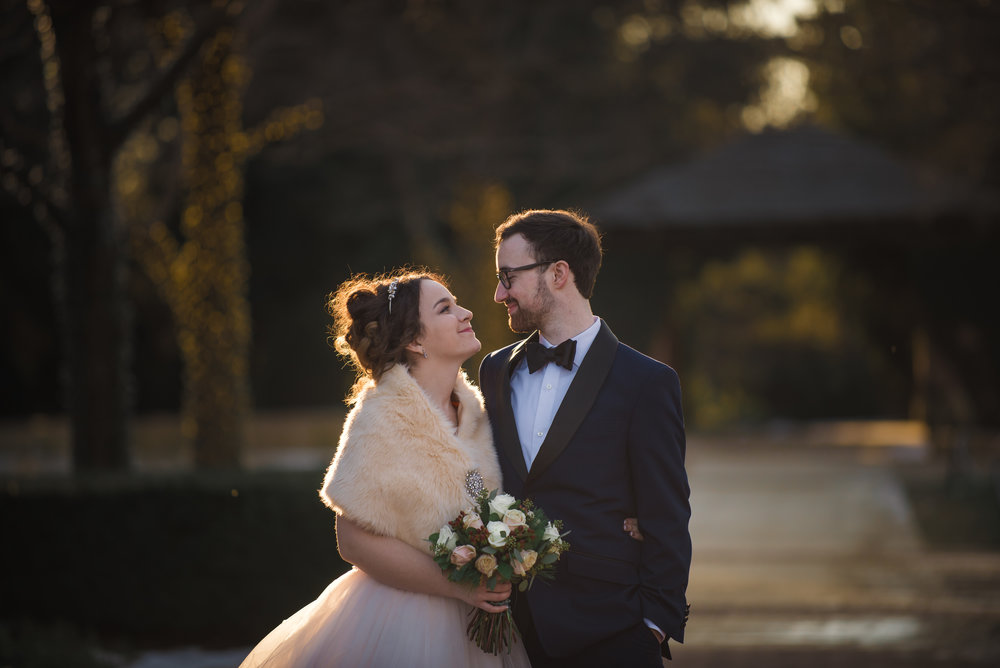 Chicago wedding photography, Chicago Botanic Garden, Meridian Photography