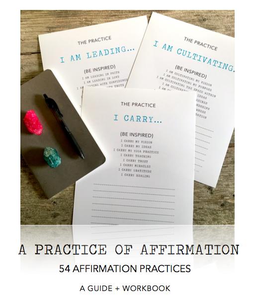 A practice of affirmation 54 affirmation practices a guide a practice of affirmation 54 affirmation practices a guide workbook altavistaventures Gallery