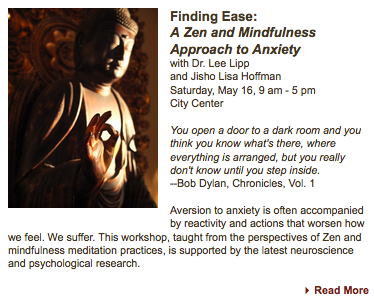 Read More link from San Francisco Zen Center email takes us to SFZC  website , where people can read more about the program, and if interested register.