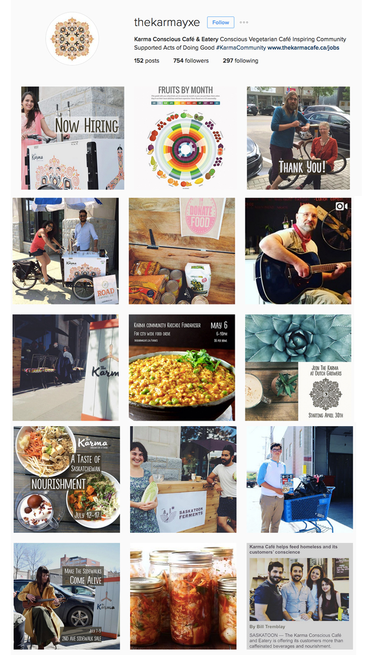 Storytelling and community building through  Instagram  adhering to brand guidleines.