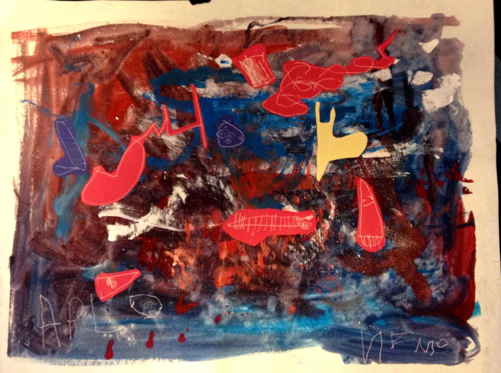 (The aquarium) by Arlo and Owen