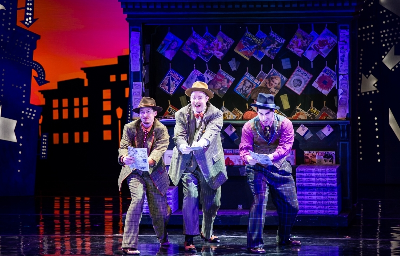 Segerstrom Center for the Arts - Dru Serkes, Todd Berkich and Mike McLean in the national tour of GUYS AND DOLLS - Photo by Patrick R. Murphy - PRM Digital Productions