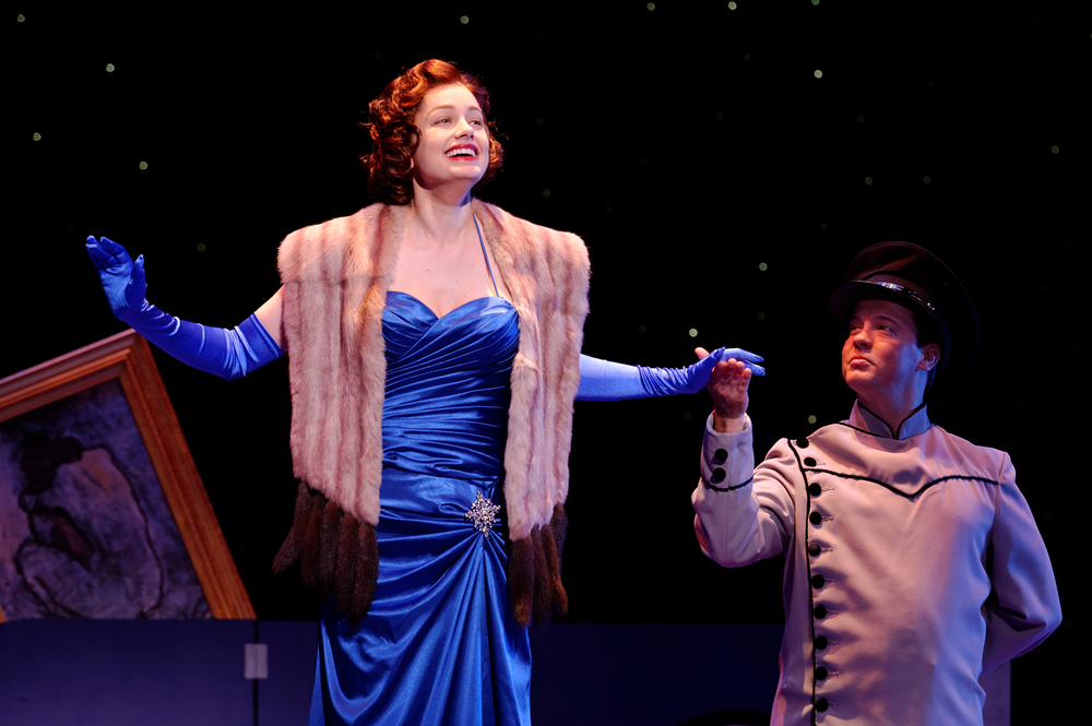 Photo of Janelle Lutz and Ryan Appleby by Michael C. Foster, as supplied by Lyric Stage
