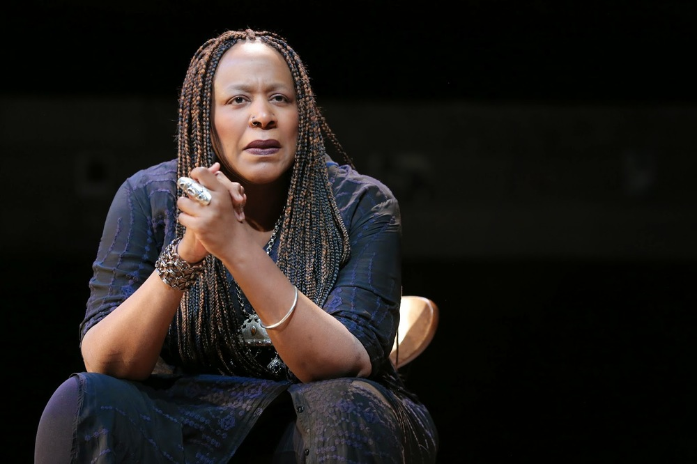 Dael Orlandersmith in Forever. Photo by Joan Marcus
