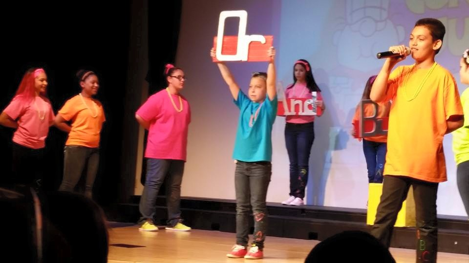 Photos of members of the cast of 'Schoolhouse Rock Live, Jr' at Gilmartin School by Nancy Sasso Janis