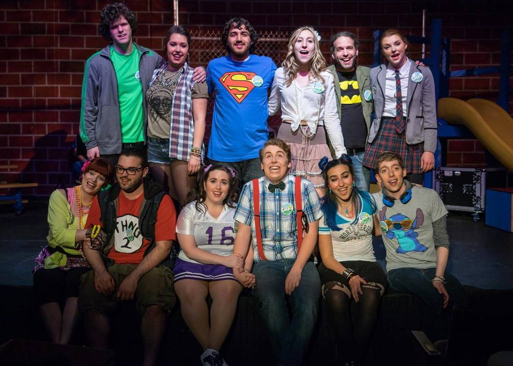 The cast of 'Godspell' Photo courtesy of TBTA