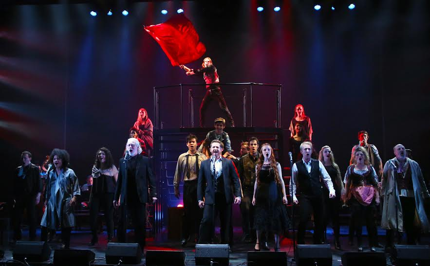 LES MISÉRABLES: A Musical Celebration directed by Terrence Mann onstage at Connecticut Repertory Theatre's Harriet S. Jorgensen Theatre from May 28 through June 7, 2015.  Tickets and information at crt.uconn.edu or 860-486-2113.  Photo by Gerry Goodstein.