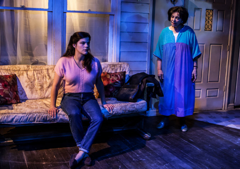 Still living at home at age 38: Diane Davis, left, and Kathryn Kates in Melissa Ross's play about disappointment and new beginnings at the Bank Street Theater. Credit Monique Carboni