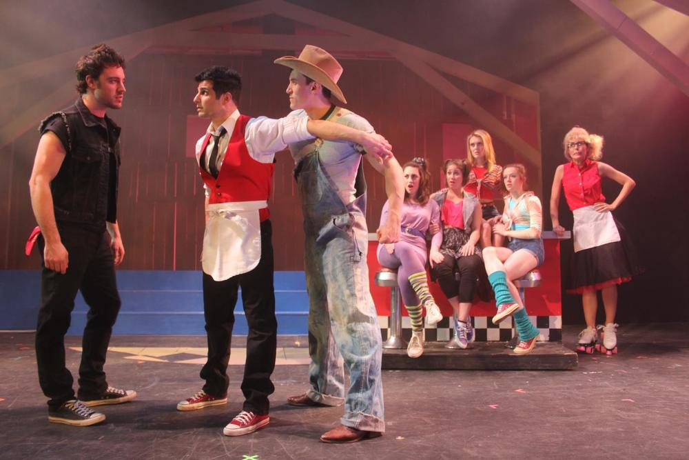 Photos of the cast of 'Footloose The Musical' at Seven Angels courtesy of Seven Angels
