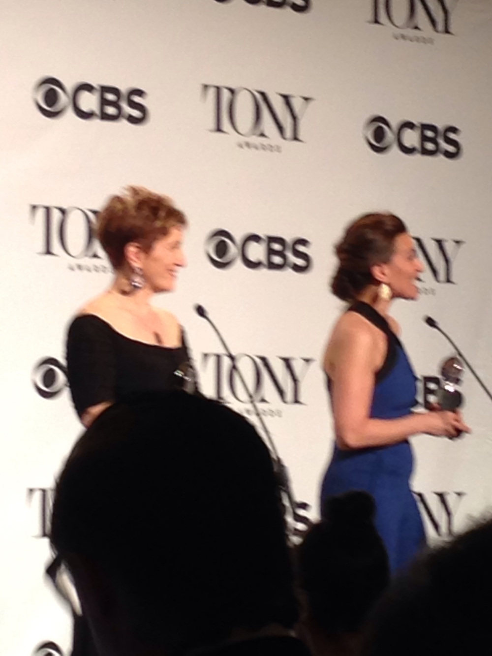 Lisa Akron and Jeanine Tesori
