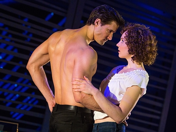 Samuel Pergande (Johnny) & Gillian Abbott (Baby) in the national tour of Dirty Dancing (Photo by Matthew Murphy)