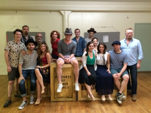 "The Cast of ""Moses Man"" - Photo from Broadway World"